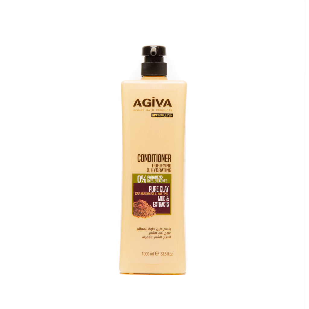 AGIVA HAIR CONDITIONER WITH CLAY EXTRACT 1000 ML