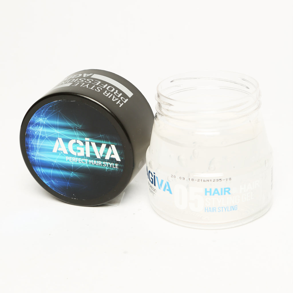 AGIVA HAIR STYLING CLEAR GEL 05 WET LOOK STRONG HOLD 200 ML