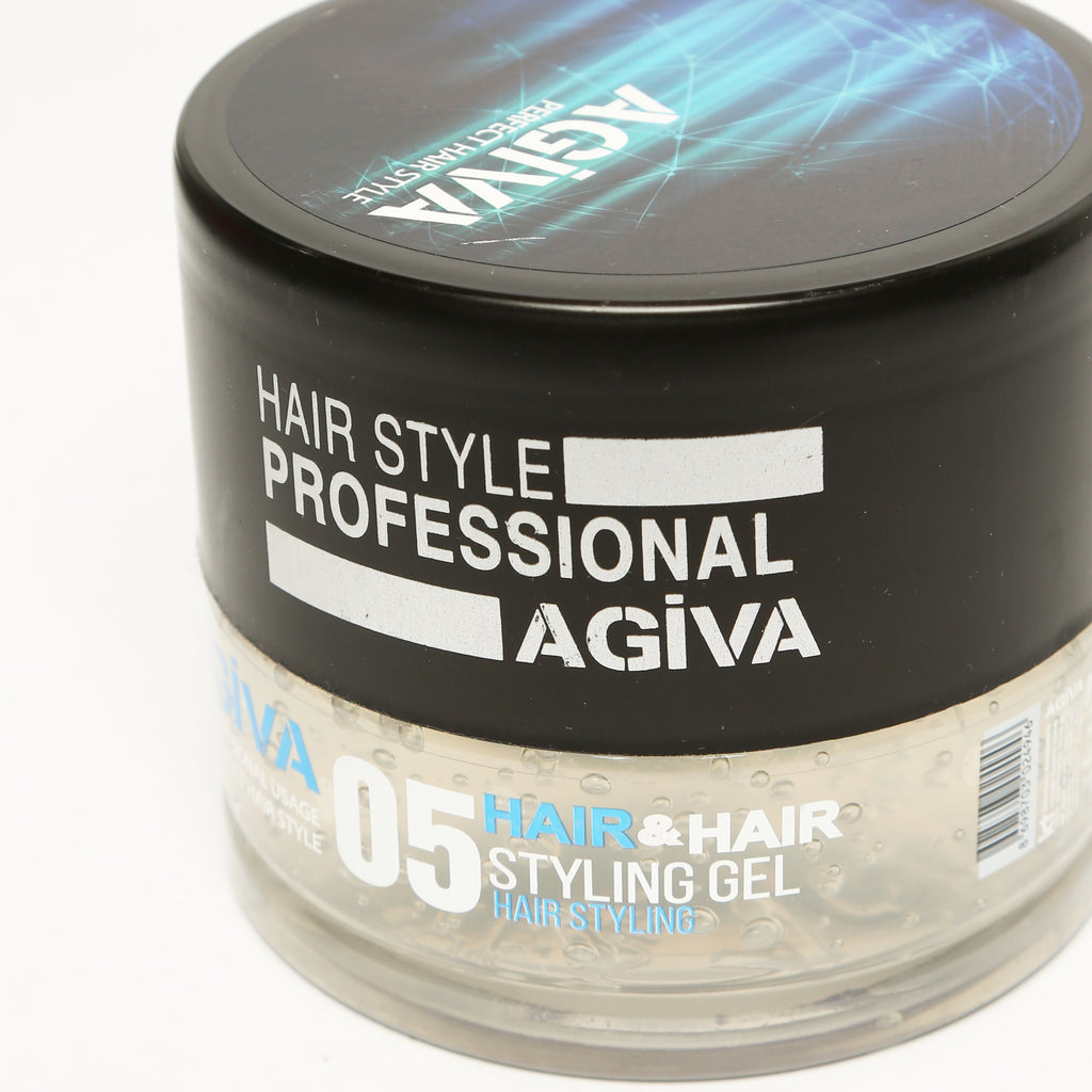 AGIVA HAIR STYLING CLEAR GEL 05 WET LOOK STRONG HOLD 700 ML