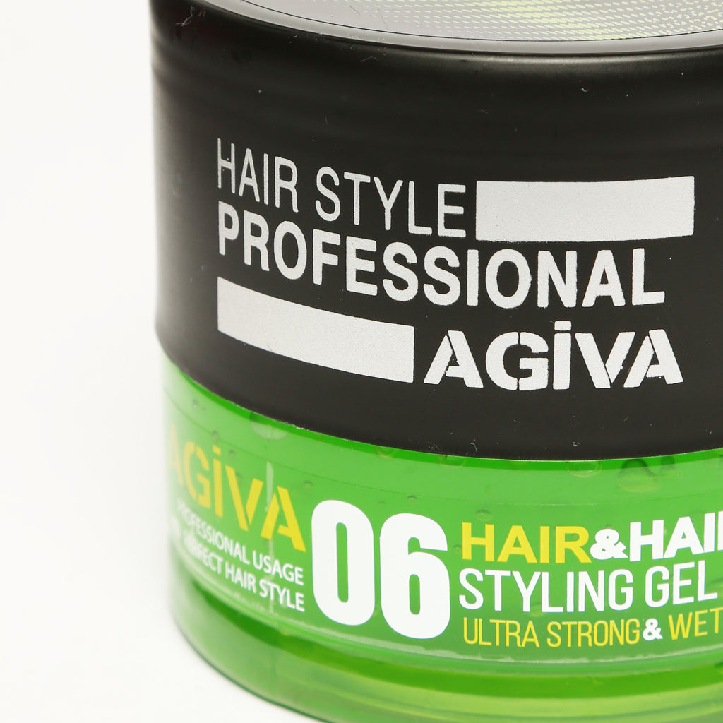 AGIVA HAIR STYLING GEL 06 WET LOOK ULTRA STRONG HOLD 700 ML