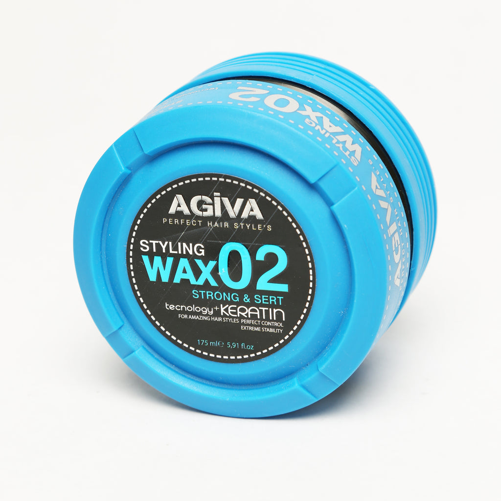 AGIVA HAIR STYLING CRYSTAL WAX 02 WET LOOK STRONG HOLD 175 ML