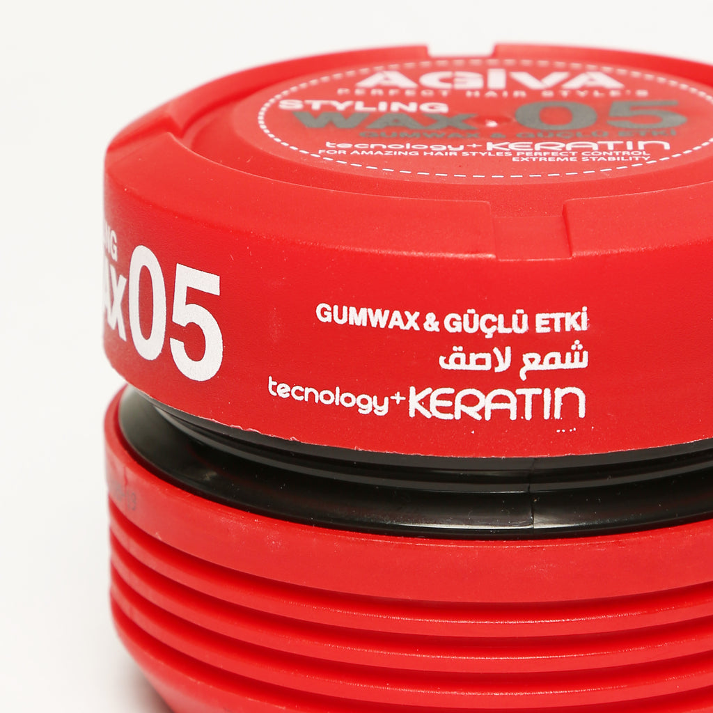 AGIVA HAIR STYLING GUM WAX 05 WET LOOK STRONG HOLD 175 ML
