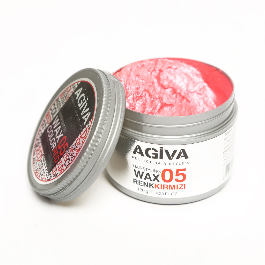 AGIVA RED COLOR WAX 05 STRONG HOLD 120 ML