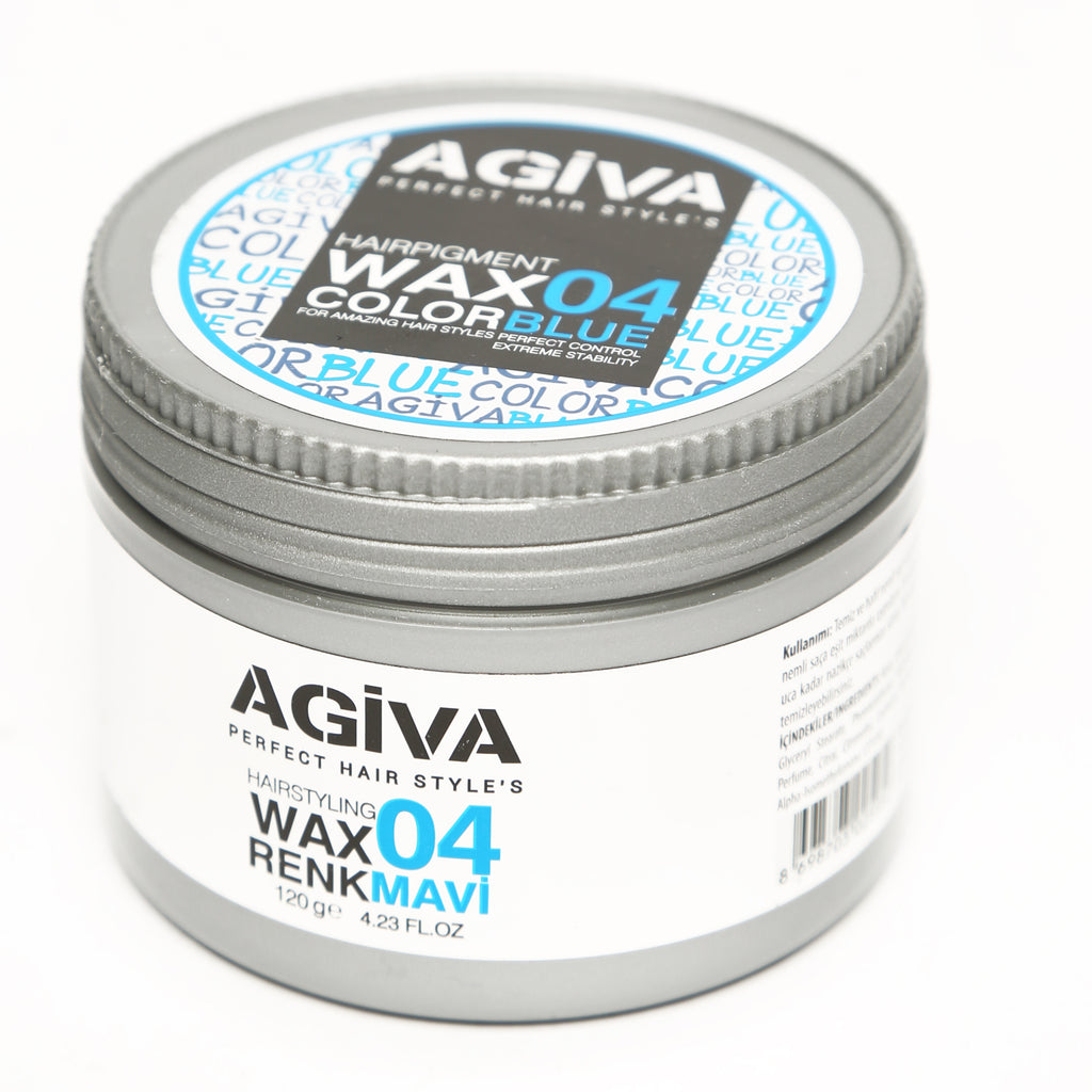 AGIVA BLUE COLOR WAX 04 STRONG HOLD 120 ML