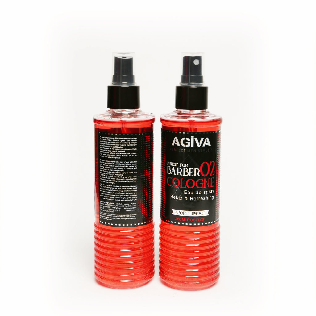 AGIVA AFTER SHAVE SPRAY COLOGNE 02 SPORT IMPACT 250 ML - Agiva Gel