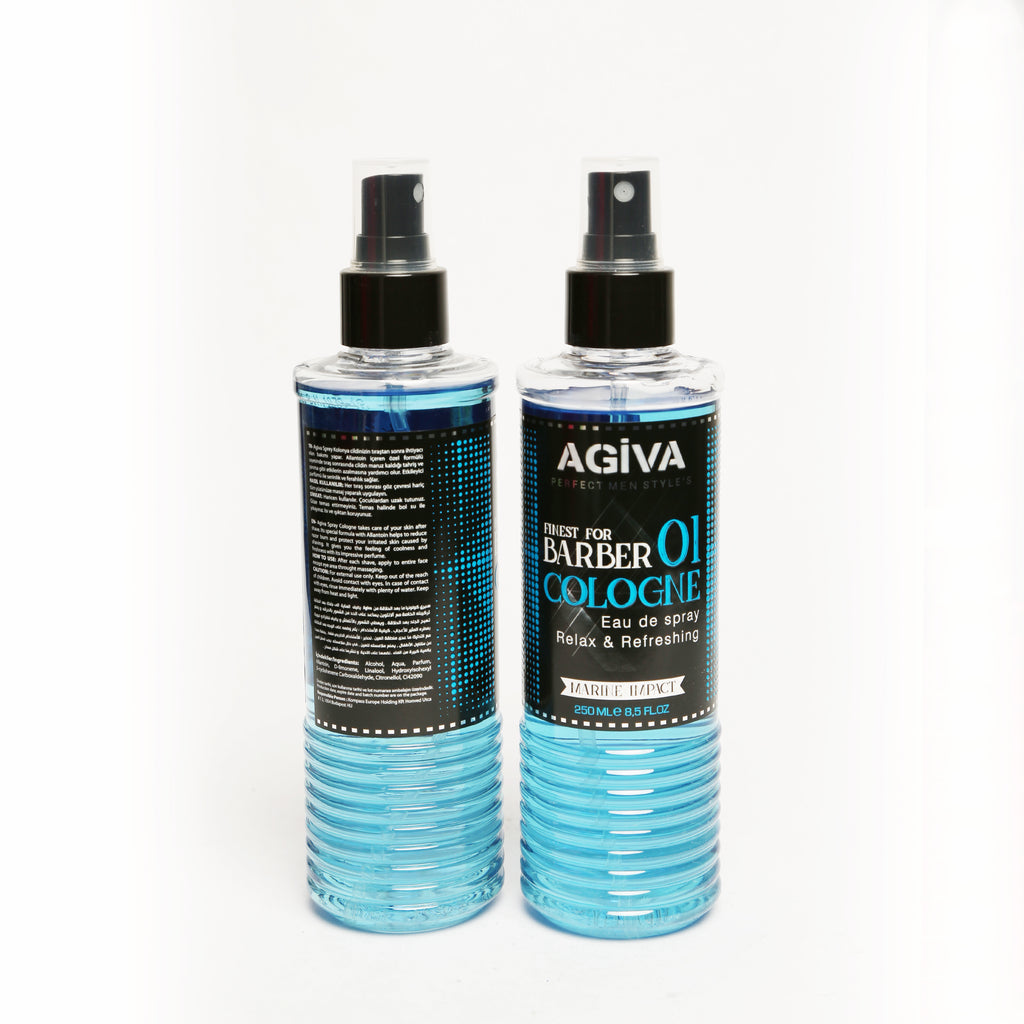 AGIVA AFTER SHAVE SPRAY COLOGNE 01 MARINE IMPACT 250 ML - Agiva Gel