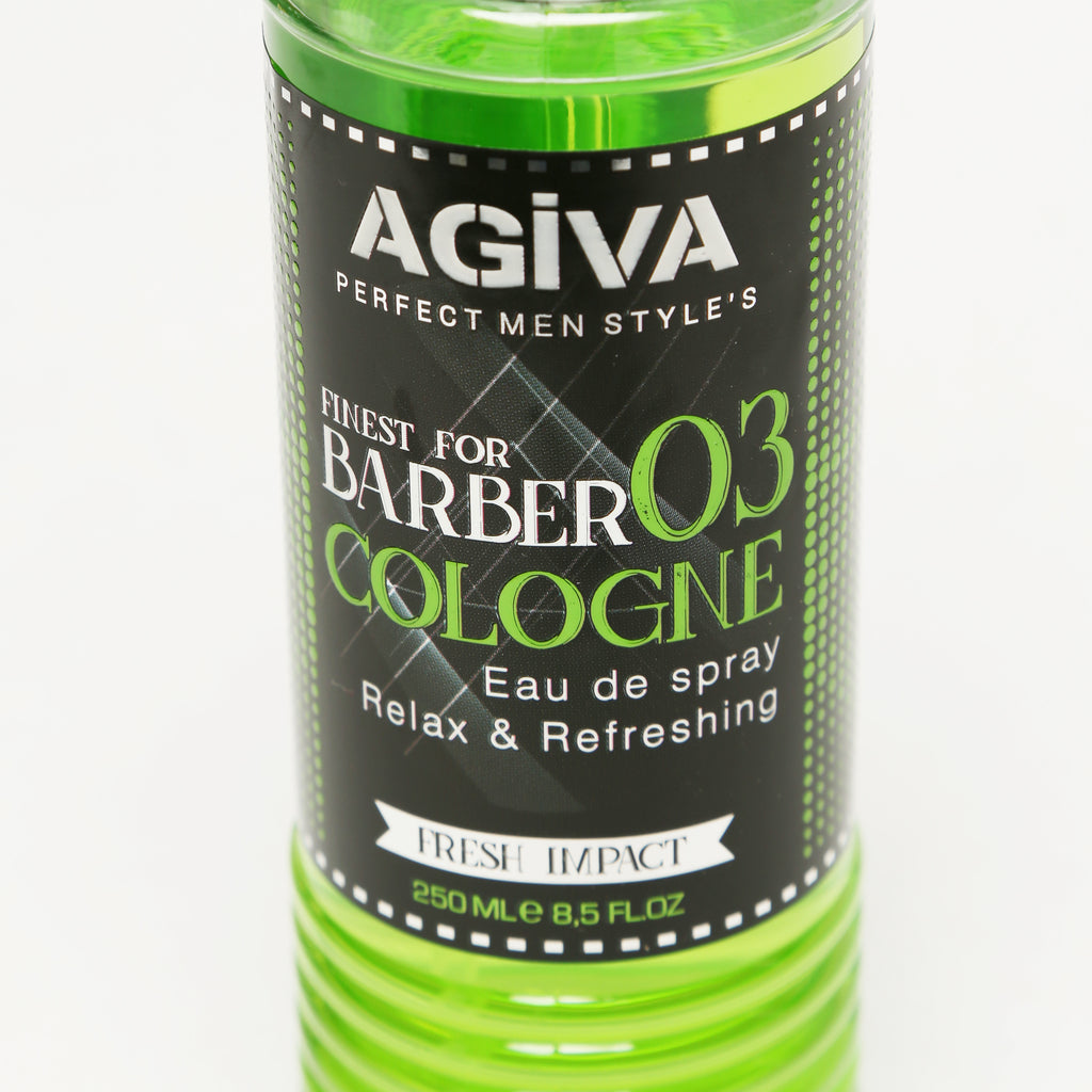 AGIVA AFTER SHAVE SPRAY COLOGNE 03 FRESH IMPACT 250 ML - Agiva Gel