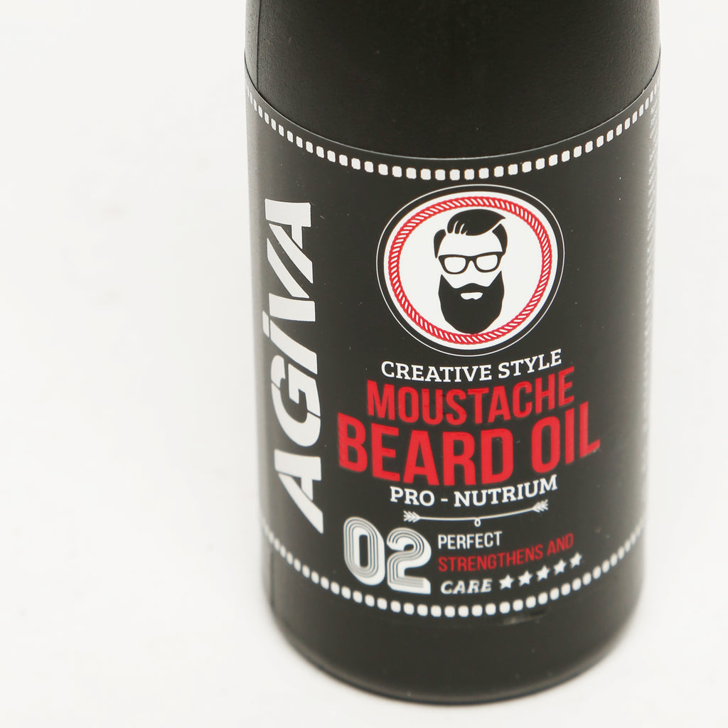 AGIVA MUSTACHE AND BEARD OIL 100 ML - Agiva Gel