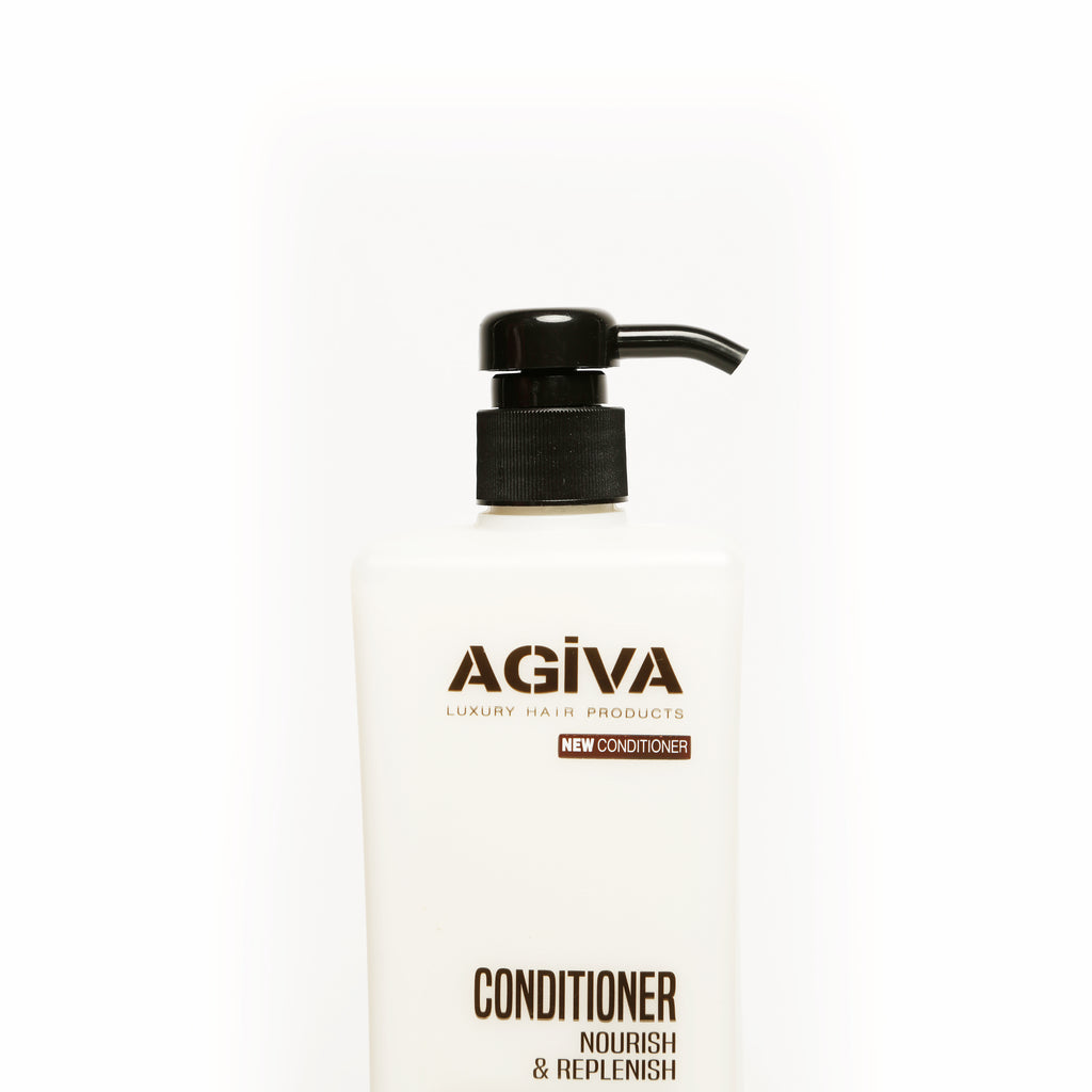 AGIVA HAIR CONDITIONER WITH BLACK GARLIC EXTRACT 1000 ML - Agiva Gel
