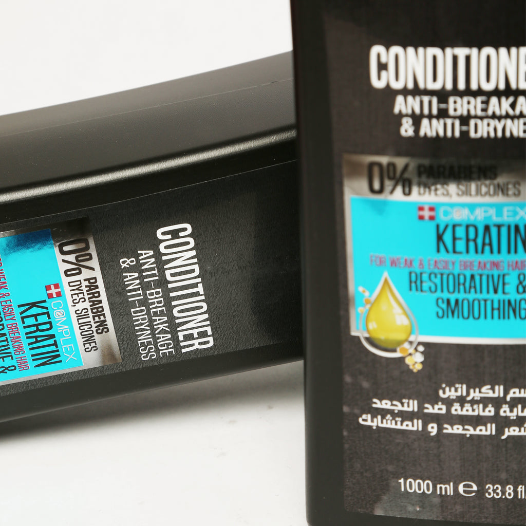 AGIVA HAIR CONDITIONER WITH KERATIN EXTRACT 1000 ML - Agiva Gel