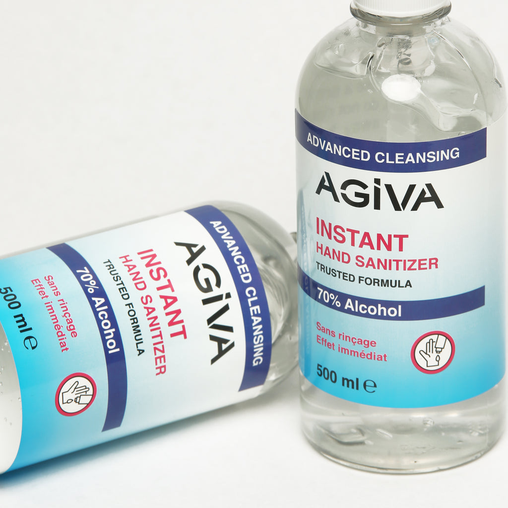 AGIVA INSTANT HAND SANITIZER 70% ALCOHOL 500 ML