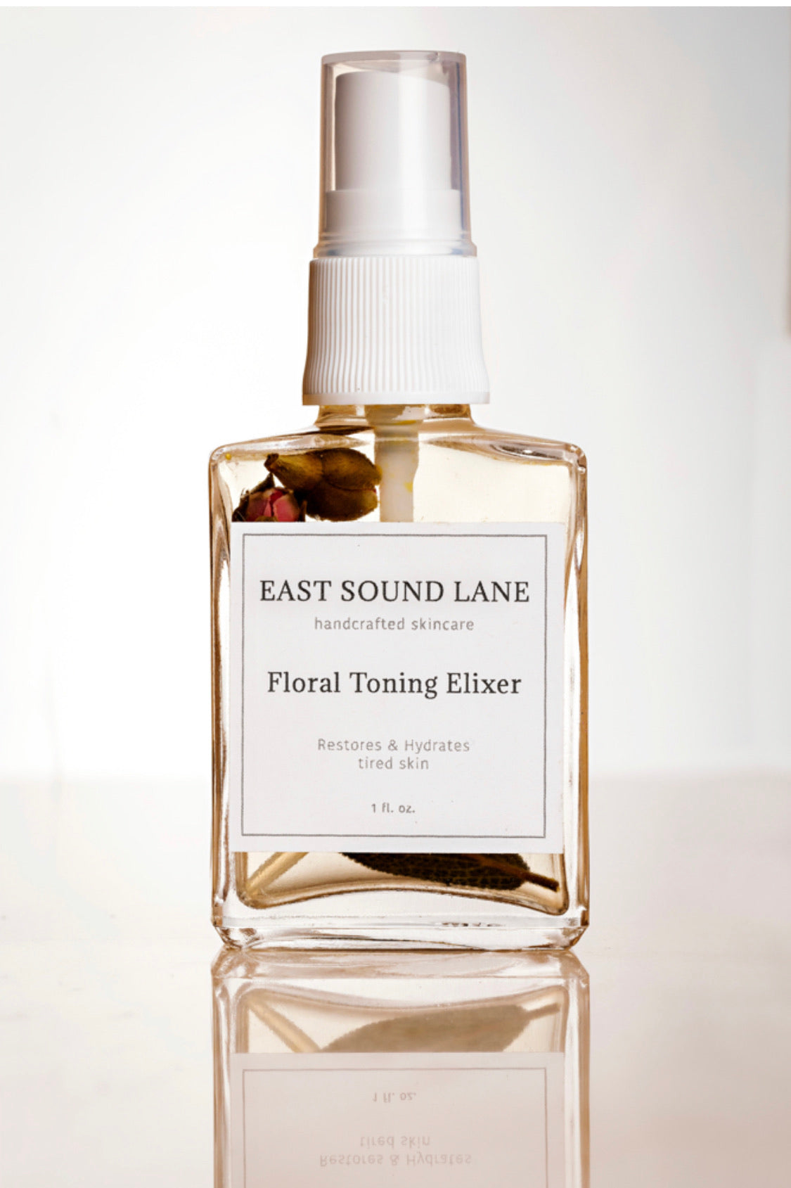 Floral Toning Elixir with Rose infused Witch Hazel & Garden Sage