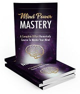 Mind Power Master  8-Part Step-By-Step Plan  #1 e-book & video course 🏆