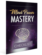 Load image into Gallery viewer, Mind Power Master  8-Part Step-By-Step Plan  #1 e-book & video course 🏆