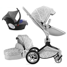 Load image into Gallery viewer, Luxury Baby Stroller 3 in 1 360° Rotation children stroller