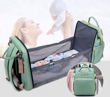 Load image into Gallery viewer, 2in1 Multificational Folding Bed Backpack