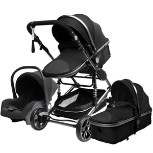 3 in 1 Baby Stroller Multifunctional  Safety Baby Carriage for Baby