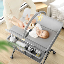 Load image into Gallery viewer, Hermes Luxury 3 in one Crib/Bed/Diaper changing table