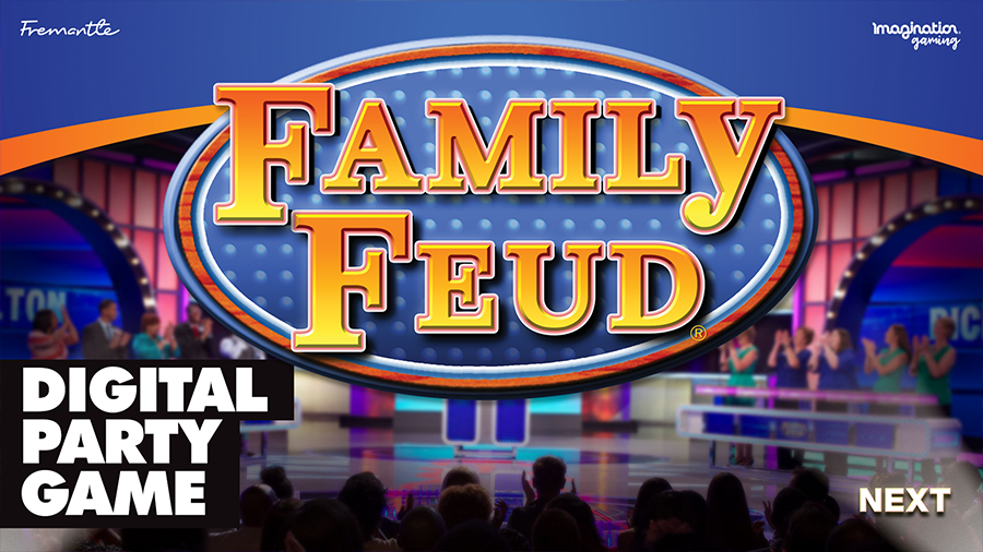 'Family Feud USA' Digital Party Game Edition 1