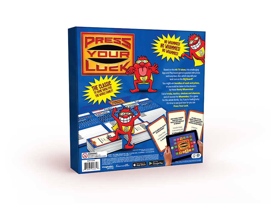 Press Your Luck Board Game