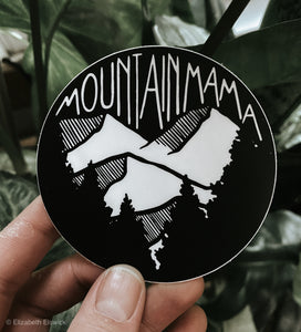 mountain mama // sticker