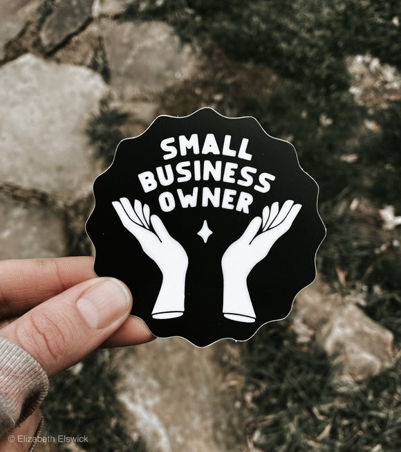 small business badge // sticker