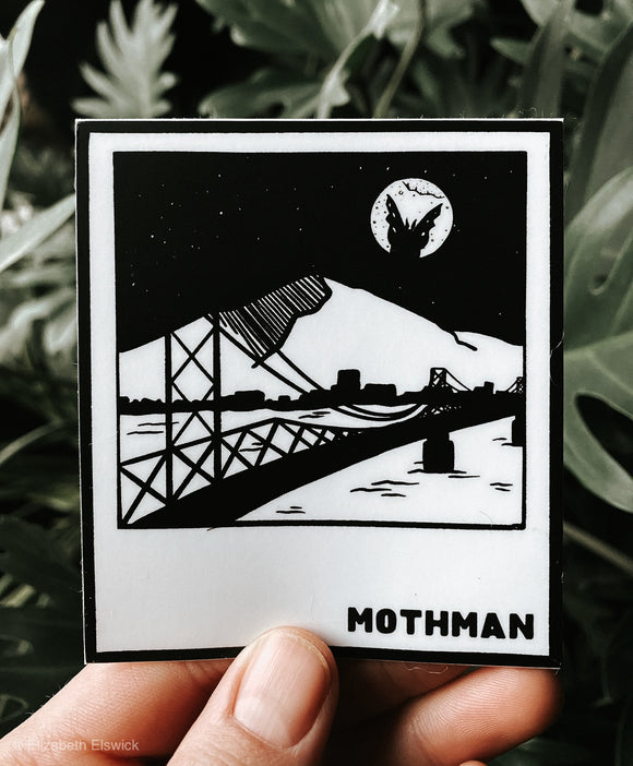 mothman // sticker