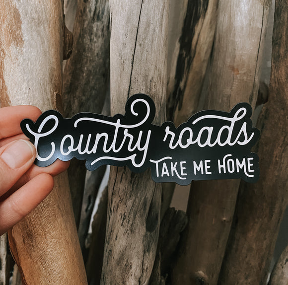 country roads // magnet