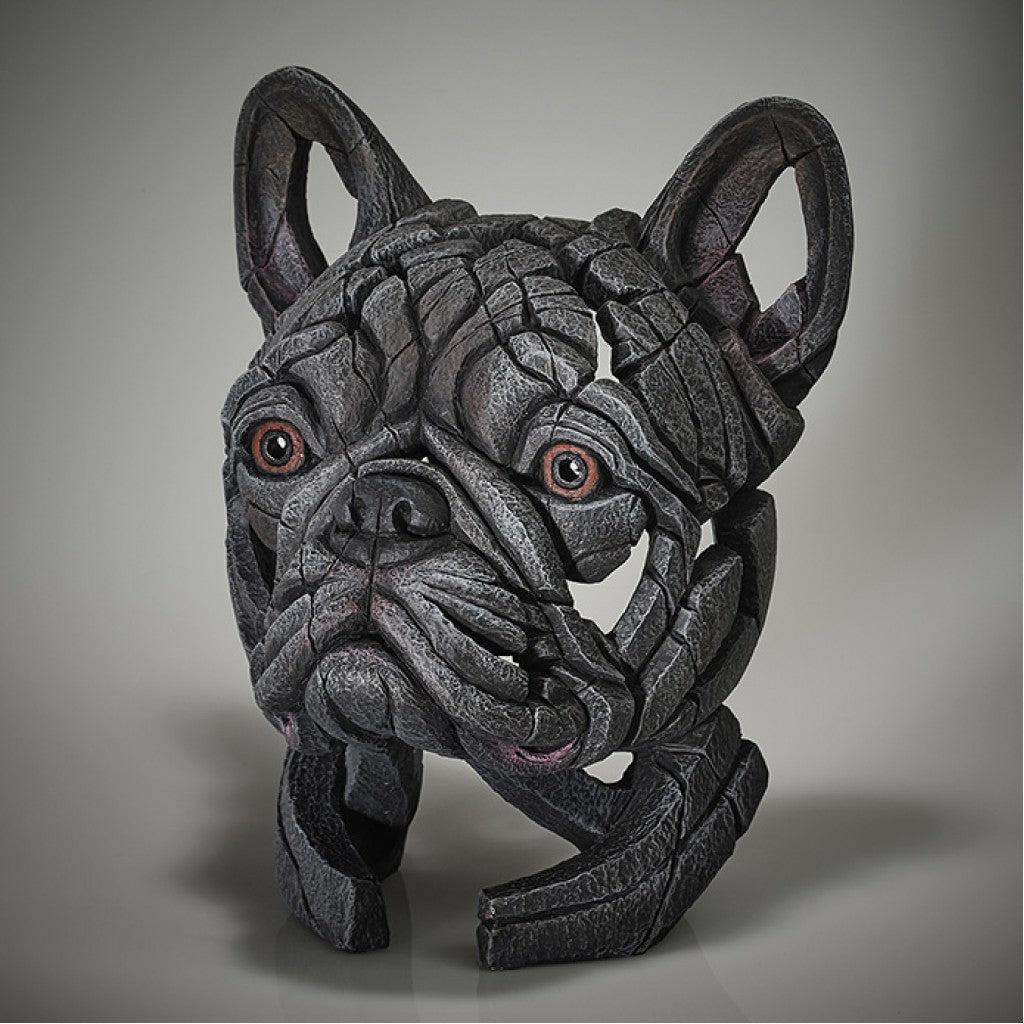 French Bulldog Bust - (Blue)