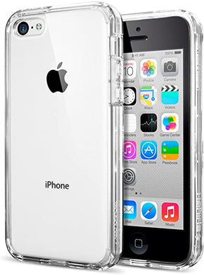 Spigen Coque iPhone 5C [Ultra Transparente Silicone en Gel TPU Souple ]  Coque Originale Housse Etui Anti-Choc pour iPhone 5C (SGP10675)