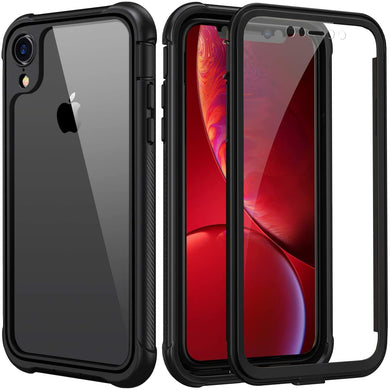 Coque iPhone XR transparentCoque iPhone XR Housse iphone XR en Silicone  renforcé Shockproof anti choc