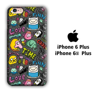 CN Adventure Time Collage of Movie iPhone 6 Plus | 6s Plus 3D coque custodia fundas