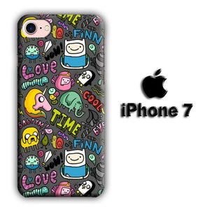 CN Adventure Time Collage of Movie iPhone 7 3D coque custodia fundas