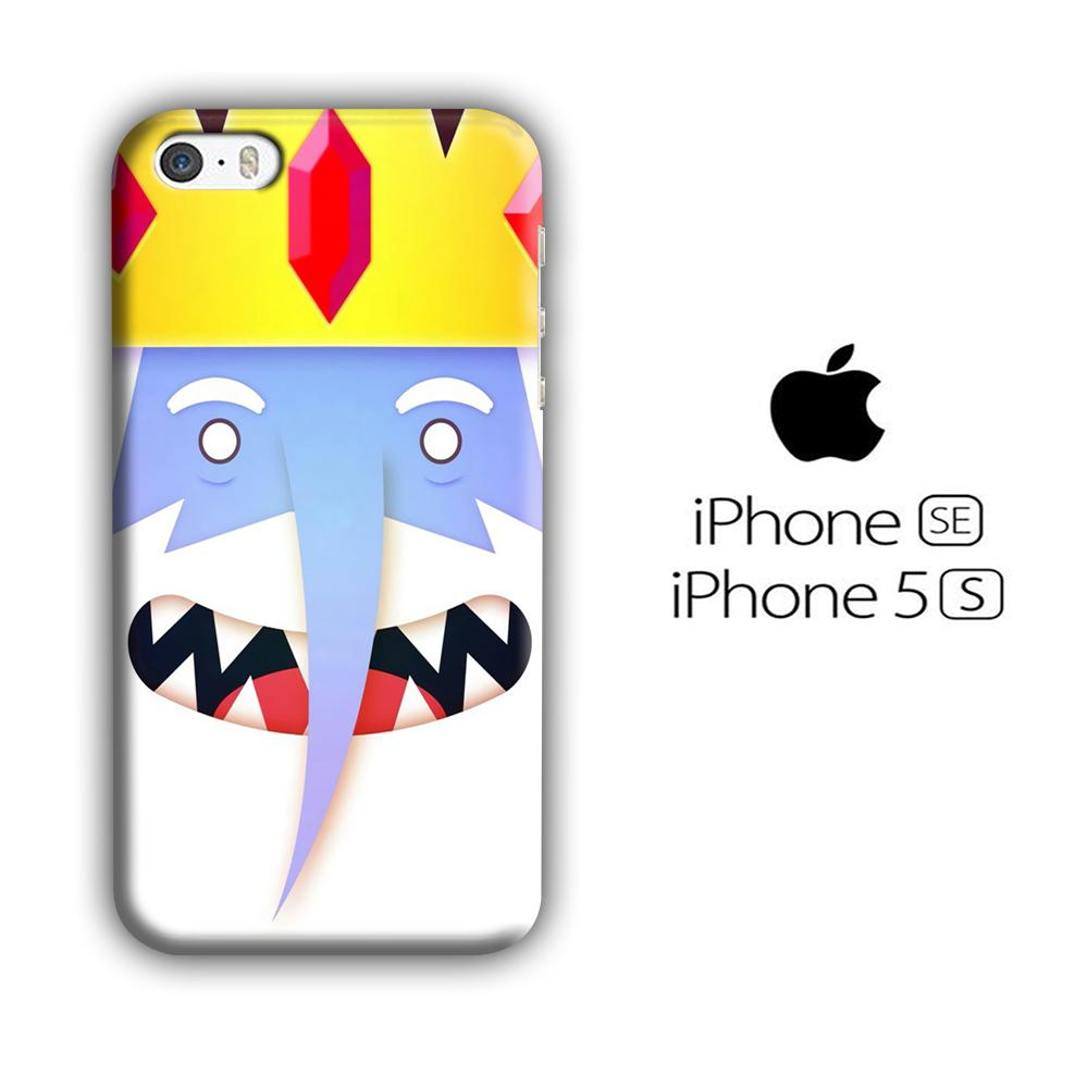 CN Adventure Time Ice King Smiley iPhone 5 | 5s 3D coque custodia fundas