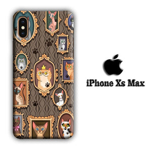 Cat Kingdom Generation iPhone Xs Max 3D coque custodia fundas