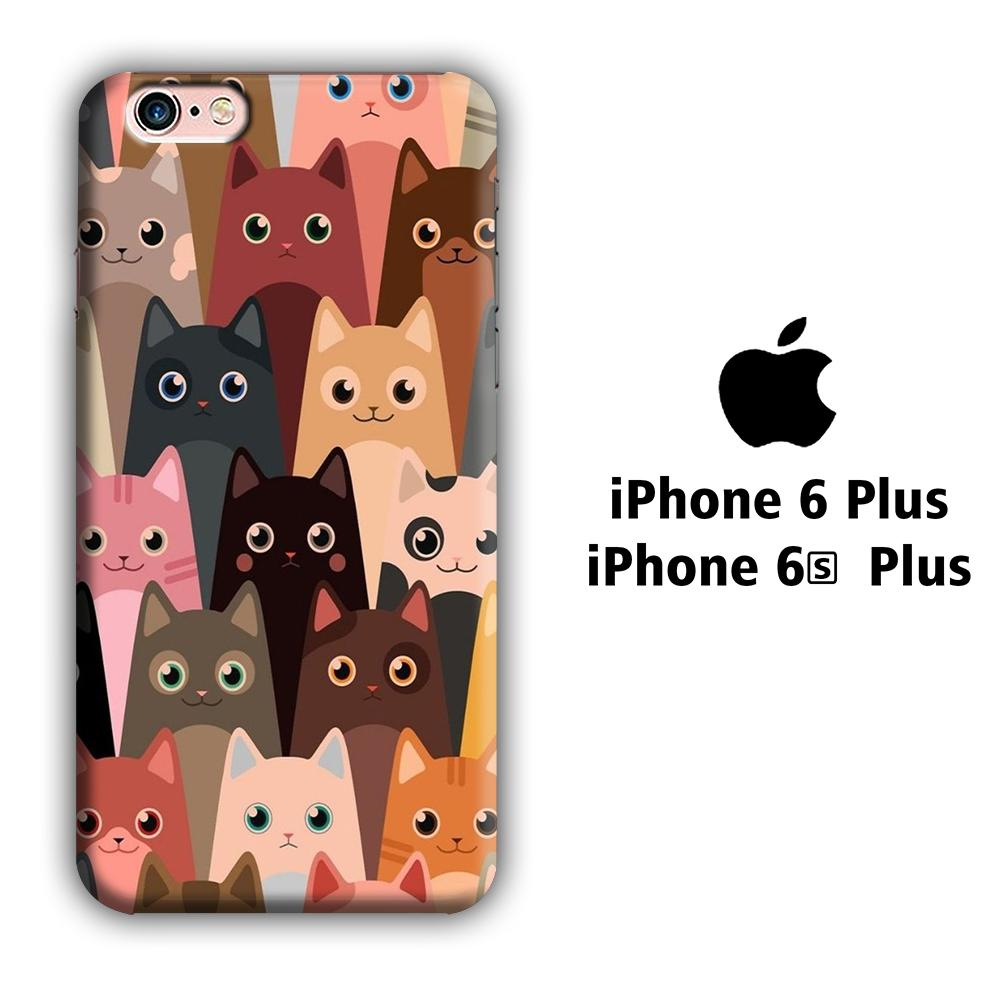 Cat Photo Class iPhone 6 Plus | 6s Plus 3D coque custodia fundas