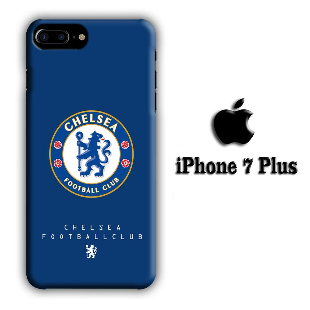 Chelsea Blue Original Logo iPhone 7 Plus 3D coque custodia fundas