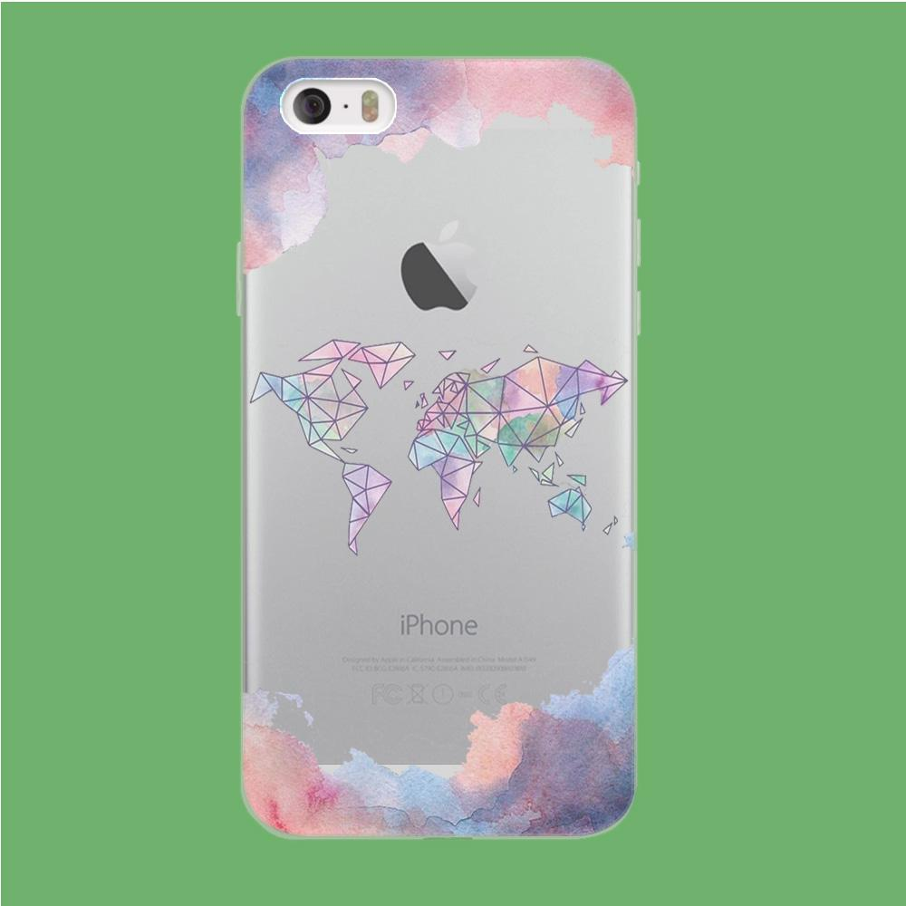 Cloudy Word coque iPhone 5 | 5s Clear