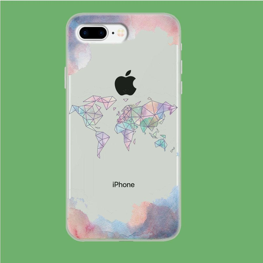 Cloudy Word coque iPhone 7 Plus Clear