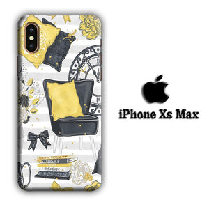Collage Cozy Home iPhone Xs Max 3D coque custodia fundas
