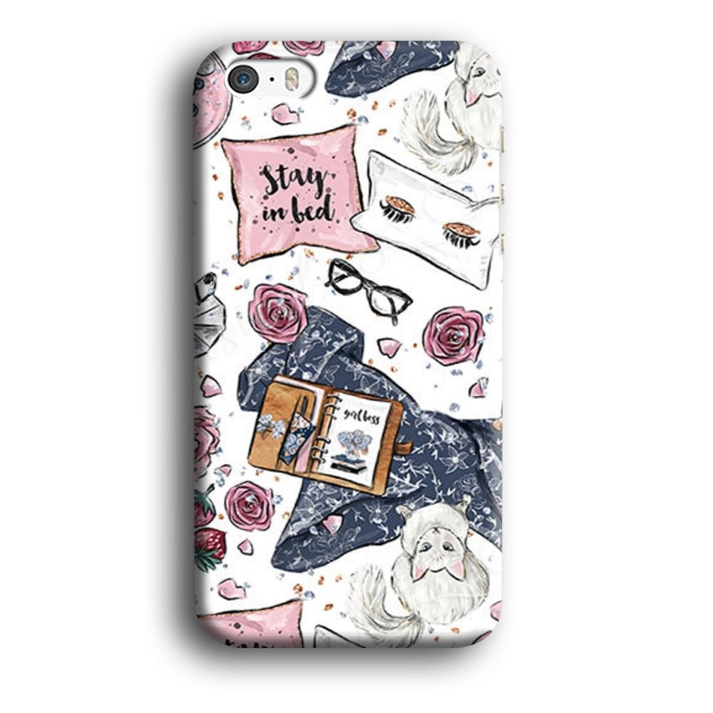 Collage Cozy Time iPhone 5 | 5s 3D coque custodia fundas