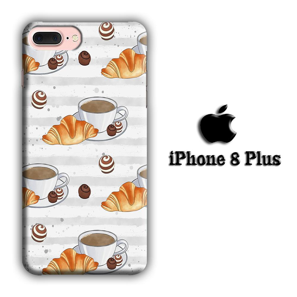 Collage Favorite Sweets iPhone 8 Plus 3D coque custodia fundas