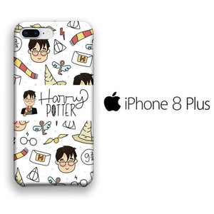 Collage Harry Potter iPhone 8 Plus 3D coque custodia fundas