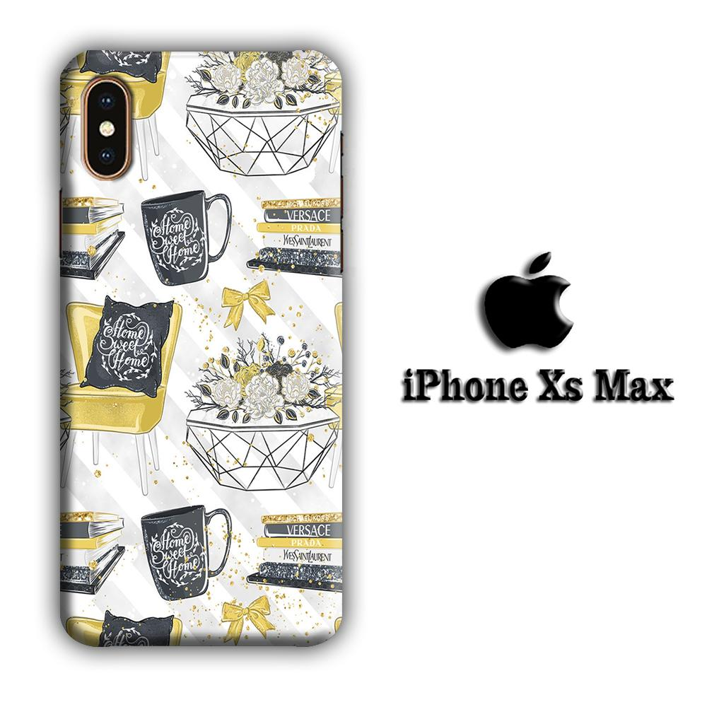 Collage Homesick iPhone Xs Max 3D coque custodia fundas
