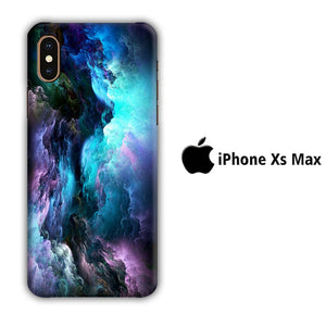 Colour Full Clouds 001 iPhone Xs Max 3D coque custodia fundas