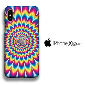 Colour Illusion iPhone Xs Max 3D coque custodia fundas