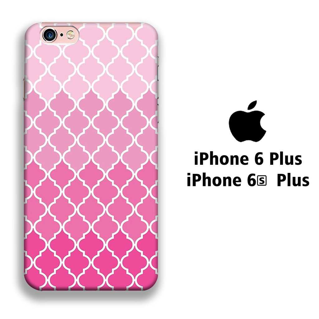 Colour Love Pink Patern iPhone 6 Plus | 6s Plus 3D coque custodia fundas