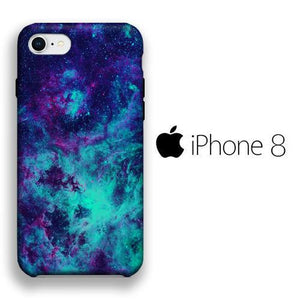 Colour Sky Giltter iPhone 8 3D coque custodia fundas