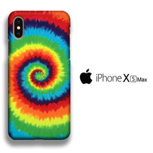 Colour Spiral Pathway iPhone Xs Max 3D coque custodia fundas