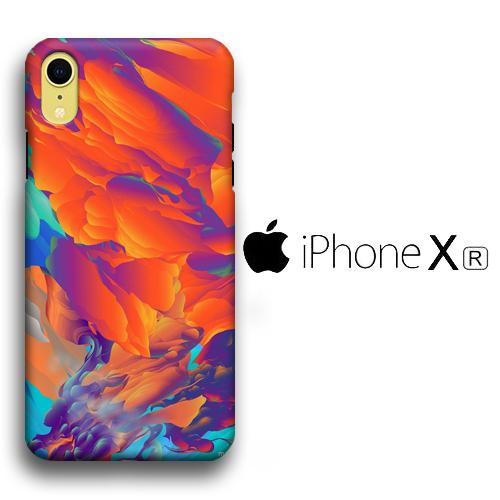 Colour Sunset iPhone XR 3D coque custodia fundas